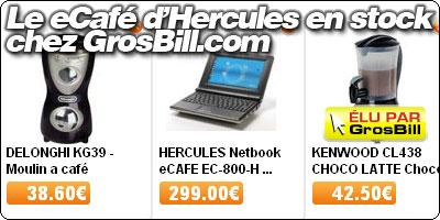 Le Hercules eCafé en stock chez Grosbill.com.