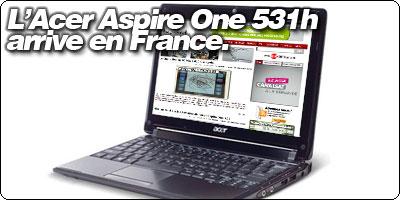 L'Acer Aspire One Slimline rebaptisé 531h