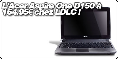 L'Acer Aspire One D150 10