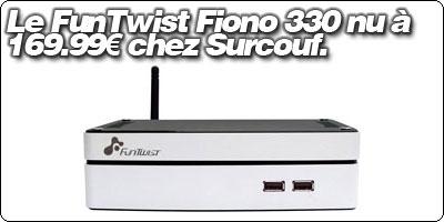 Le FunTwist Fiono 330 à 169.99€ chez Surcouf.