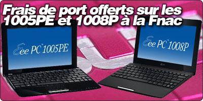 Frais de port offerts sur les 1005PE et 1008P désormais en stock à la Fnac
