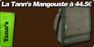 La sacoche Tann's Mangouste à 44.50€