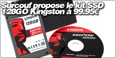 Surcouf propose le kit SSD V Series 128Go + boitier externe à 99.95€ !
