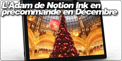 L'Adam de Notion Ink en précommande en Décembre
