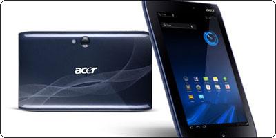 Les tablettes Acer A100 et A500 3G et Wifi annoncées à la Fnac