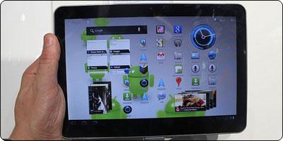 La Galaxy Tab 10.1'' interdite en vente en Europe.