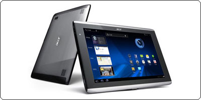 L'Iconia Tab A500 10