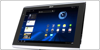 La Acer Iconia Tab A500 32Go disponible en France à 499€