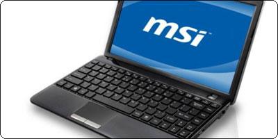 Le MSI U270 sous AMD E350 disponible à 409€