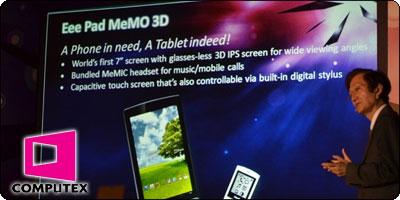 La Asus EeePAD Memo, un écran IPS 7 pouces width=