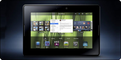 Qoqa propose aujourd'hui la BlackBerry Playbook 32Go à 479€