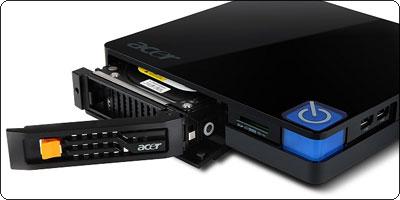 Acer Aspire Revo RV100 : Offrez 500Go et du DLNA à votre télé pour 66€ !