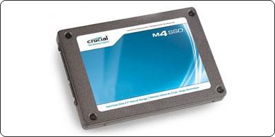 Un SSD 64Go Crucial M4 à 89.95€ chez LDLC