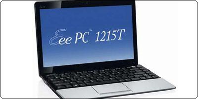 L'Asus EeePC 1215T Argent à 299.90€ chez CDiscount !