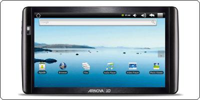 L'Arnova 10b, une tablette 10'' capacitive sous les 200€ !