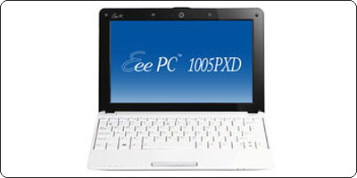 SOLDES : Le Asus EeePC 1005PXD 6 cellules à 229.90€