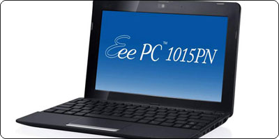 SOLDES : ASUS EeePC 1015PN N570 + ION NG à 297.46€ à la FNAC