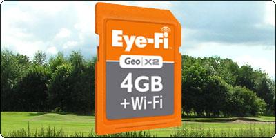 SOLDES : La carte Eye-Fi Geo X2 4Go + WiFi à 44.99€ La Eye-Fi Explore X2 8Go + WiFi à 53.88€