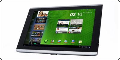 Achetez votre Iconia Tab A500 et recevez pochette et dock Acer pour 1€ de plus.