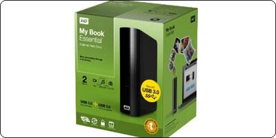 PROMO : Un disque dur Externe 2TO Western Digital USB 3.0 à 107.57€