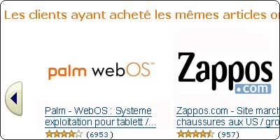 Amazon intéressé par le rachat de WebOS ?