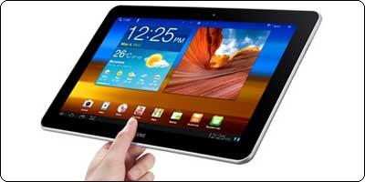 La Samsung Galaxy Tab 10 16Go à 430.87€