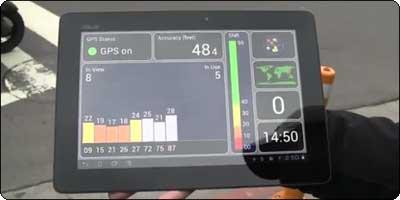 Le GPS de la Transformer Prime testé en vidéo