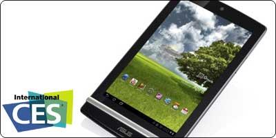 CES 2012 : La tablette 7 pouces Asus EeePAD MeMo 370T confirmée sous Tegra