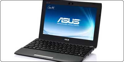 L'Asus EeePC Flare 1025C sous Atom Cedar Trail N2800 en stock à 299.90€