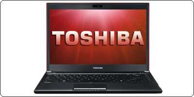 Le Toshiba R830-1K7 : 13.3 / Core i5-2450M / 4Go / 128Go SSD à 699€