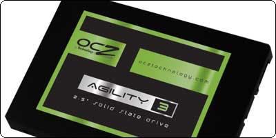 Un SSD OCZ Agility 3 SATA III 120Go à 89.90€ chez TopAchat