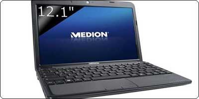 Medion Akoya E2312 : 12.1 pouces / AMD E-450 / 4Go / 750 Go : 359.70€