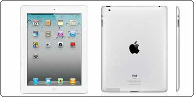 Promo : Apple iPad 2 16Go blanc à 369.99€
