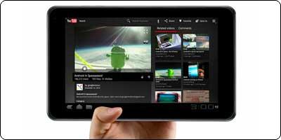 """SOLDES : La LG Optimus Pad 32Go Tegra2 écran 8.9"""" à 199€"""