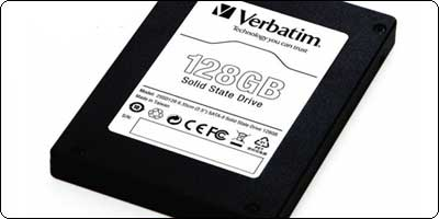 Un SSD Verbatim Black Edition 2.5