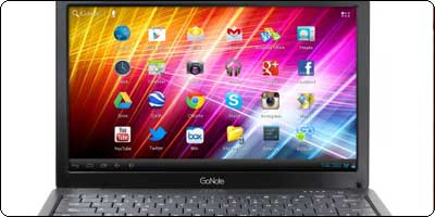 GoNote, un netbook sous Android 4.0 à 235$