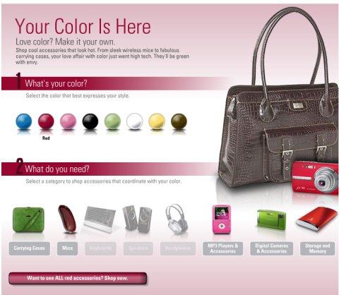 La boutique colorée de Dell