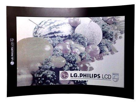 L'écran souple e-paper de 14,3 pouces LG/Philips