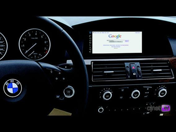 Salon de Genève : Vidéo du système BMW Connected BMW, l'internet en voiture}