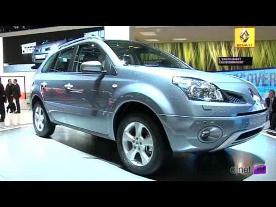 Salon de Genève : Vidéo du Renault Koleos}