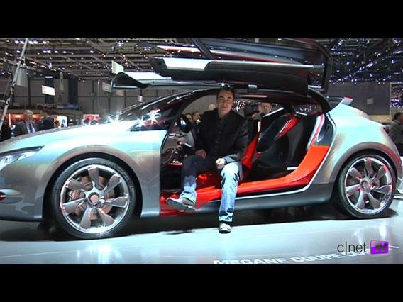 Salon de Genève : la Renault Mégane Coupé Concept en vidéo}