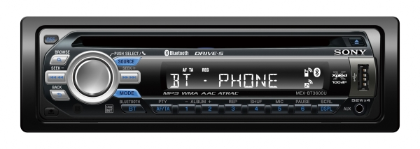 Nouvel autoradio Sony