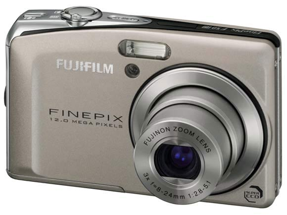 appareil photo compact fujifilm F50fd face