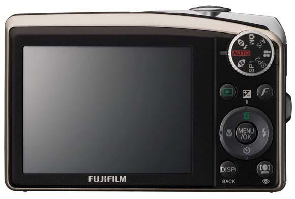 appareil photo compact fujifilm F50fd arriere