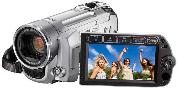 camescope definition standard canon fs10