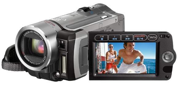 camescope à carte mémoire SD canon FS100