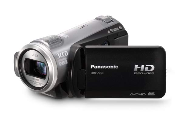 camescope full hd carte mémoire panasonic sd9
