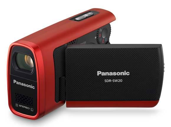camescope carte sd pansonic sw20