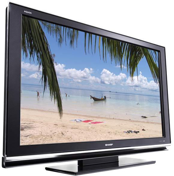 tv lcd full hd disque dur tntn hd sharp lcd-46hd1e