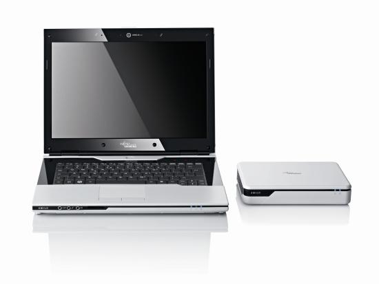 Fujitsu-Siemens Amilo Sa 3650 et Graphioc Booster